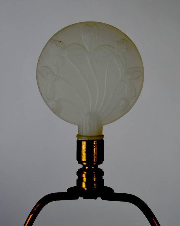 Art Deco Lamp after Lalique For Sale 1