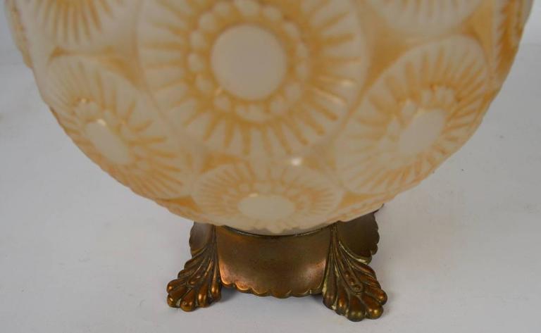 Art Deco Lamp after Lalique For Sale 2