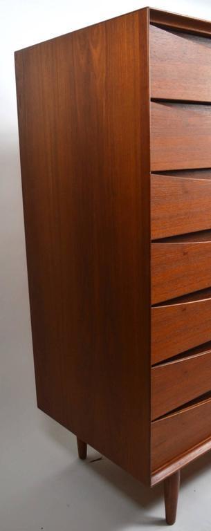 Scandinavian Modern Seven-Drawer Danish Modern Chest Arne Vodder for Sibast For Sale
