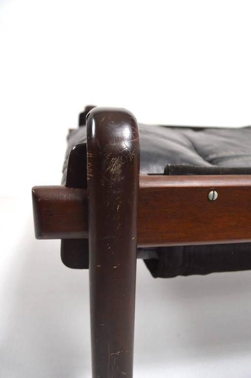 Mid-20th Century Brazilian Stool Footrest Ottoman by Jean Gillon For Sale