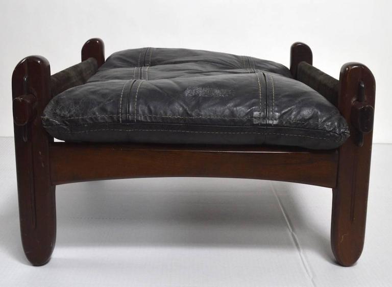 Brazilian Stool Footrest Ottoman by Jean Gillon For Sale 2