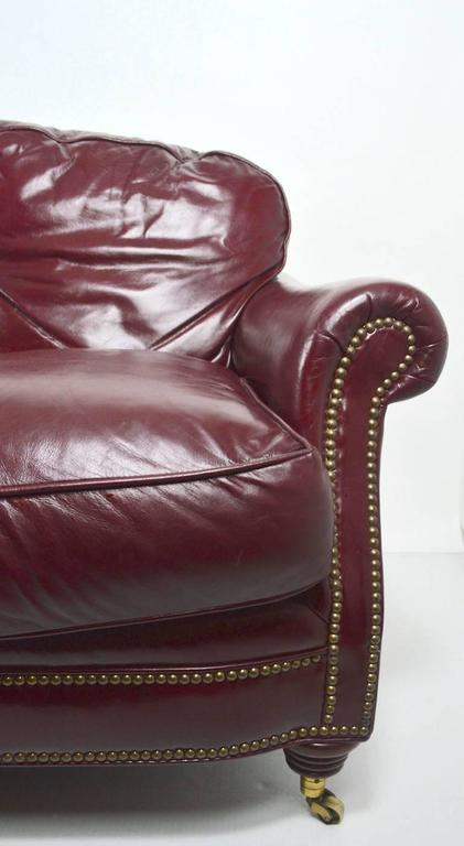 Classic Leather Sofa Couch For Sale 1