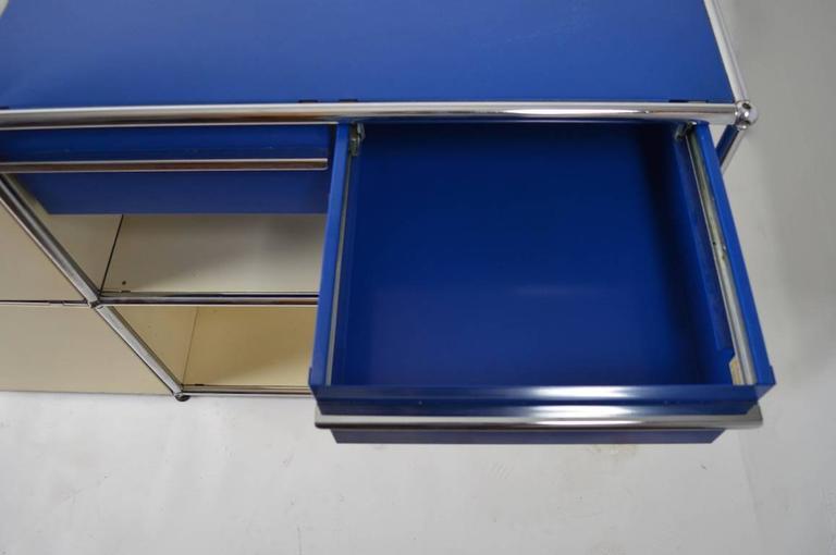 Steel Fritz Haller for Herman Miller Storage Unit For Sale