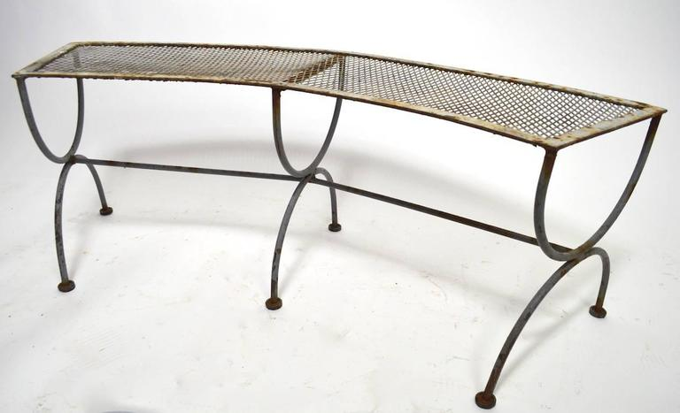 Semi Circular Radar Bench by Salterini 5