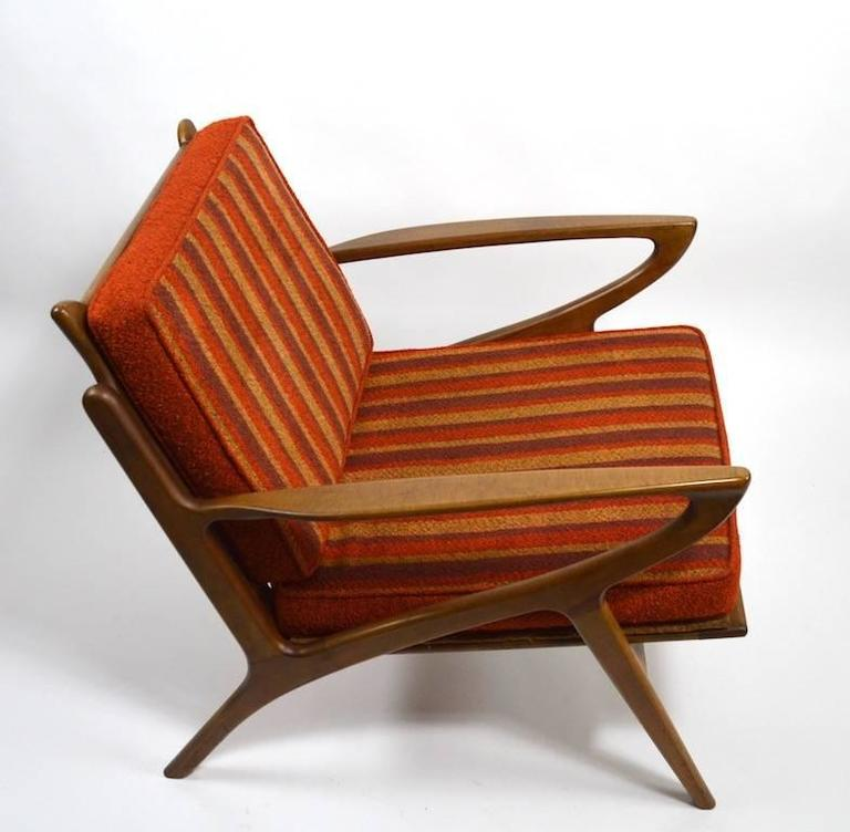Pair of Stylish Lounge Chairs Yugoslavian after Jensen For Sale at ...
