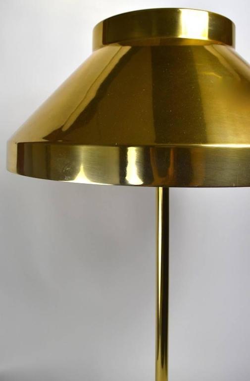 Rare Brass Paul Mayen for Habitat Table Lamp For Sale 2