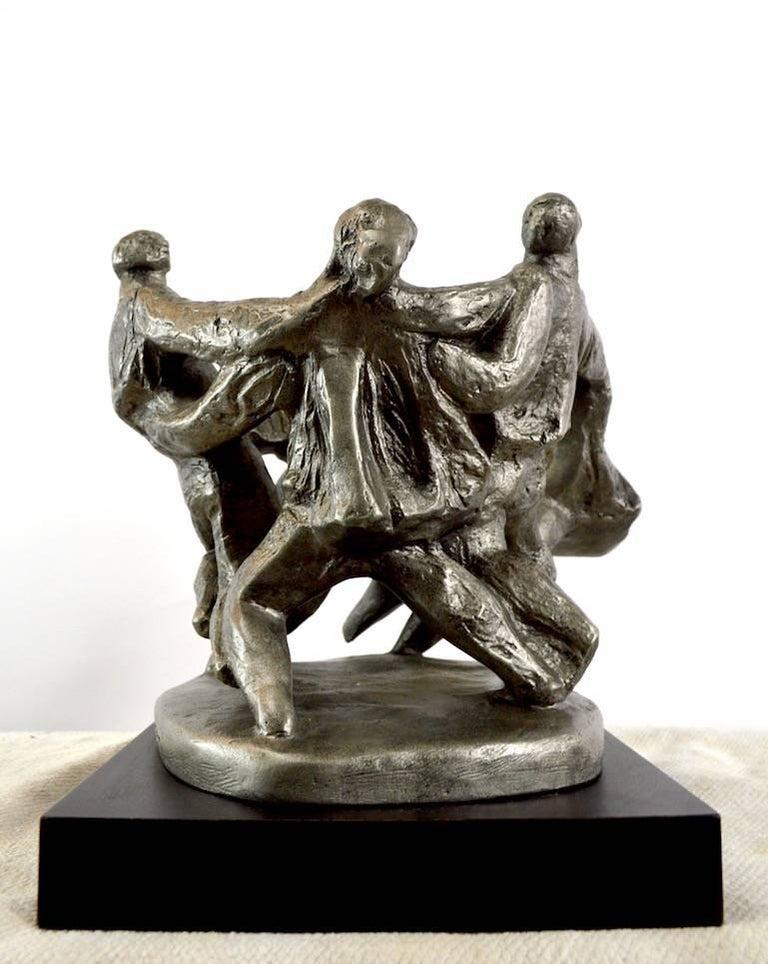 Klara Sever Sculpture Circle of Humanity For Sale 1
