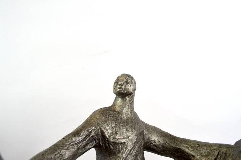 Plaster Klara Sever Sculpture Circle of Humanity For Sale