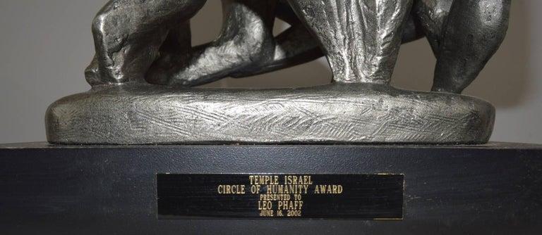 American Klara Sever Sculpture Circle of Humanity For Sale