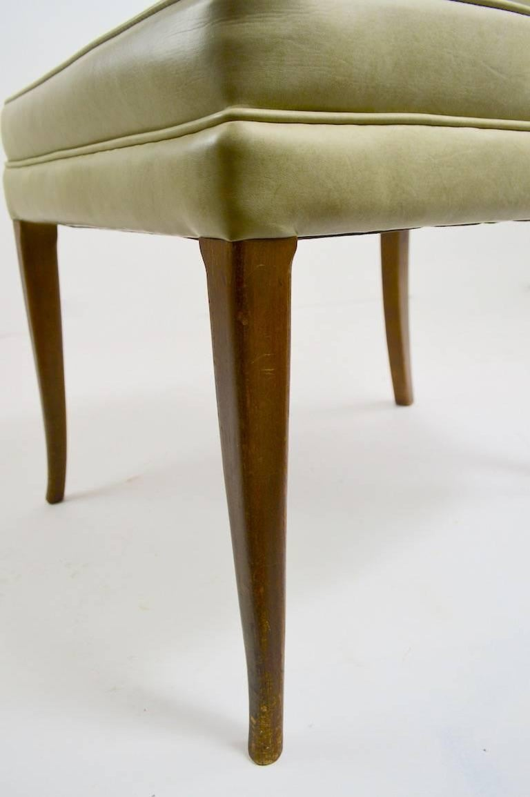 Hollywood Regency Pr. Stylish High Back Side Chairs For Sale