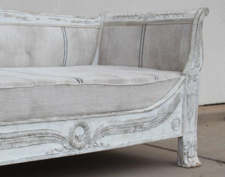 French Period Empire Daybed Sofa, 19th Century 3
