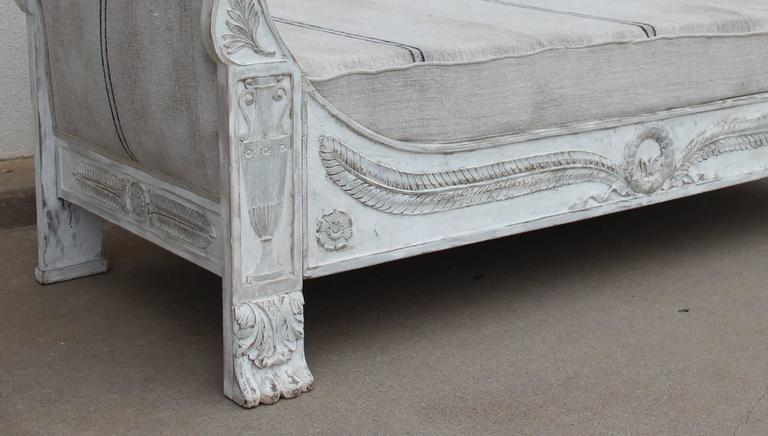 French Period Empire Daybed Sofa, 19th Century 8