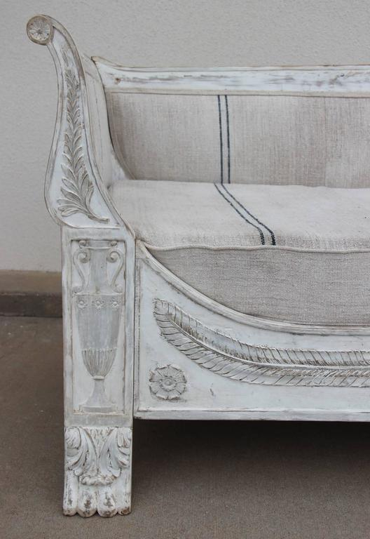 French Period Empire Daybed Sofa, 19th Century 7