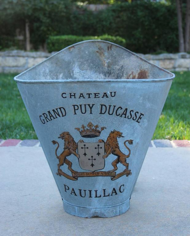 French Zinc Grape Hods, 19th Century Antique For Sale 2