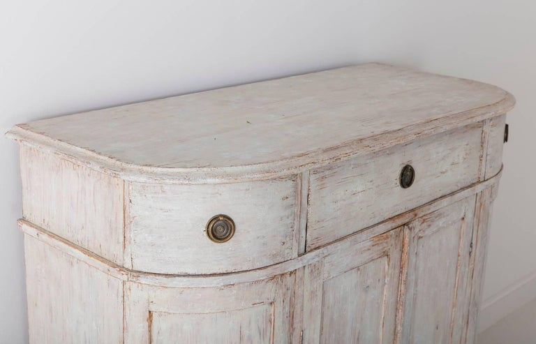 19th Century Swedish Period Gustavian Painted Buffet Cabinet 8