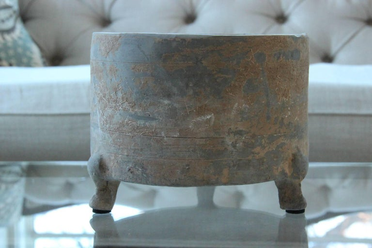 Unglazed Han Dynasty Period Lian For Sale