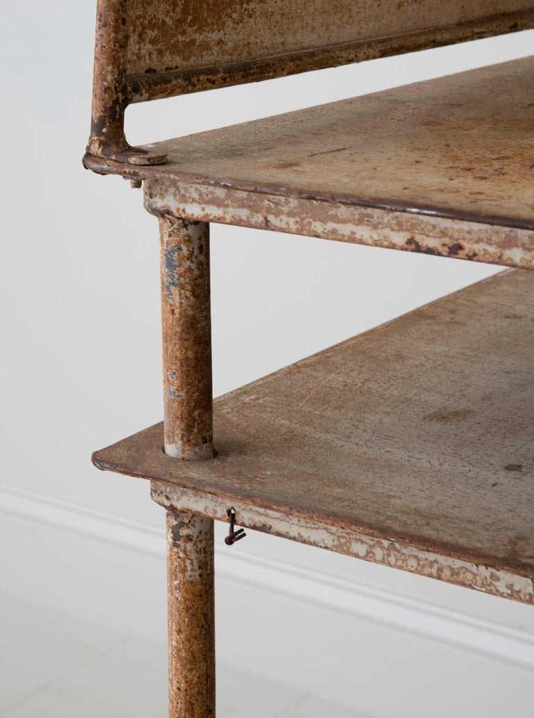 Early 20th Century American Iron Oyster Table For Sale 2