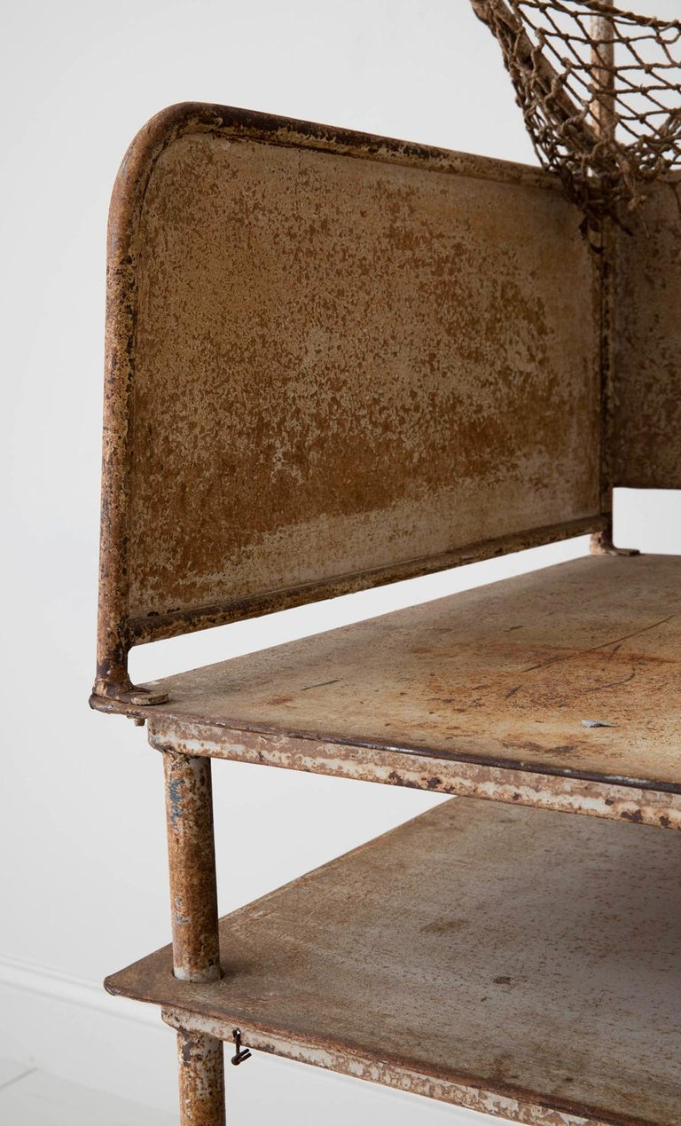 Early 20th Century American Iron Oyster Table For Sale 1