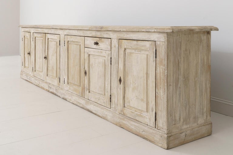 19th Century French Provençal Louis Philippe Style Enfilade in Original Patina For Sale 7