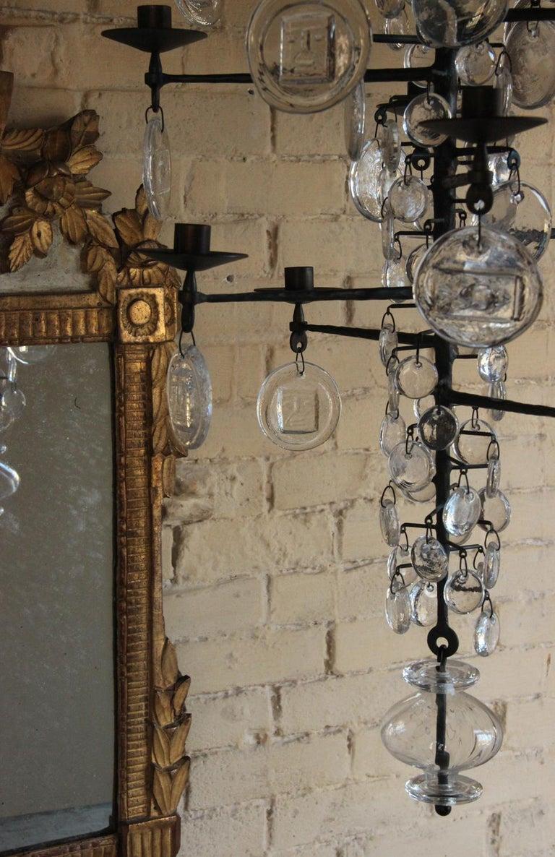 Mid-Century Modern Twelve-Arm Chandelier by Erik Höglund For Sale 9