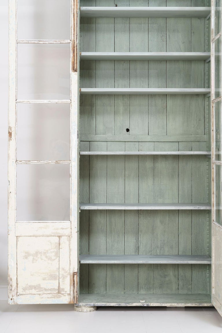 19th Century French Bibliothèque Bookcase or Vitrine For Sale 1