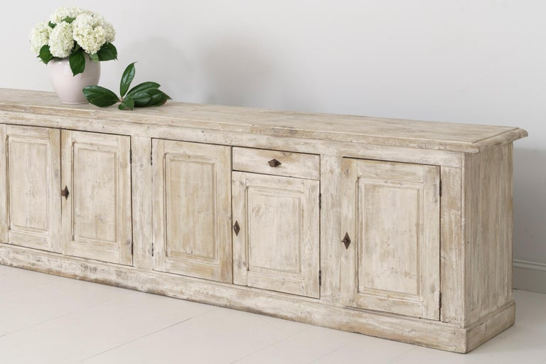 19th Century French Provençal Louis Philippe Style Enfilade in Original Patina For Sale 1