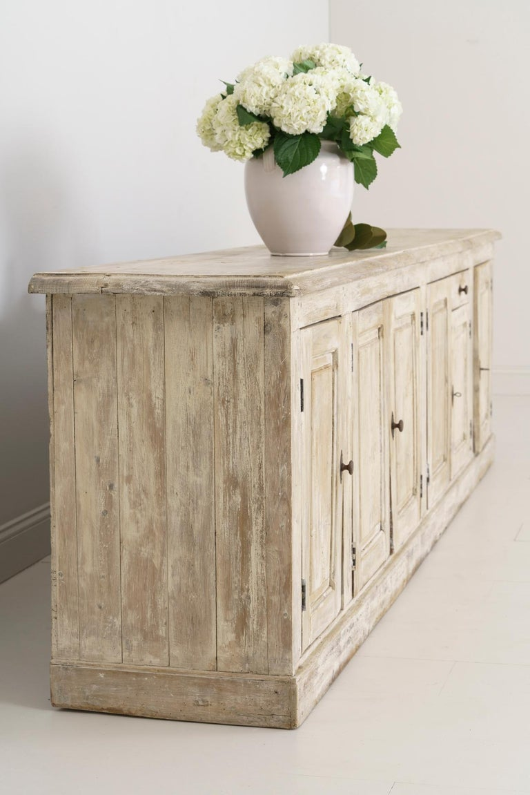 19th Century French Provençal Louis Philippe Style Enfilade in Original Patina For Sale 4