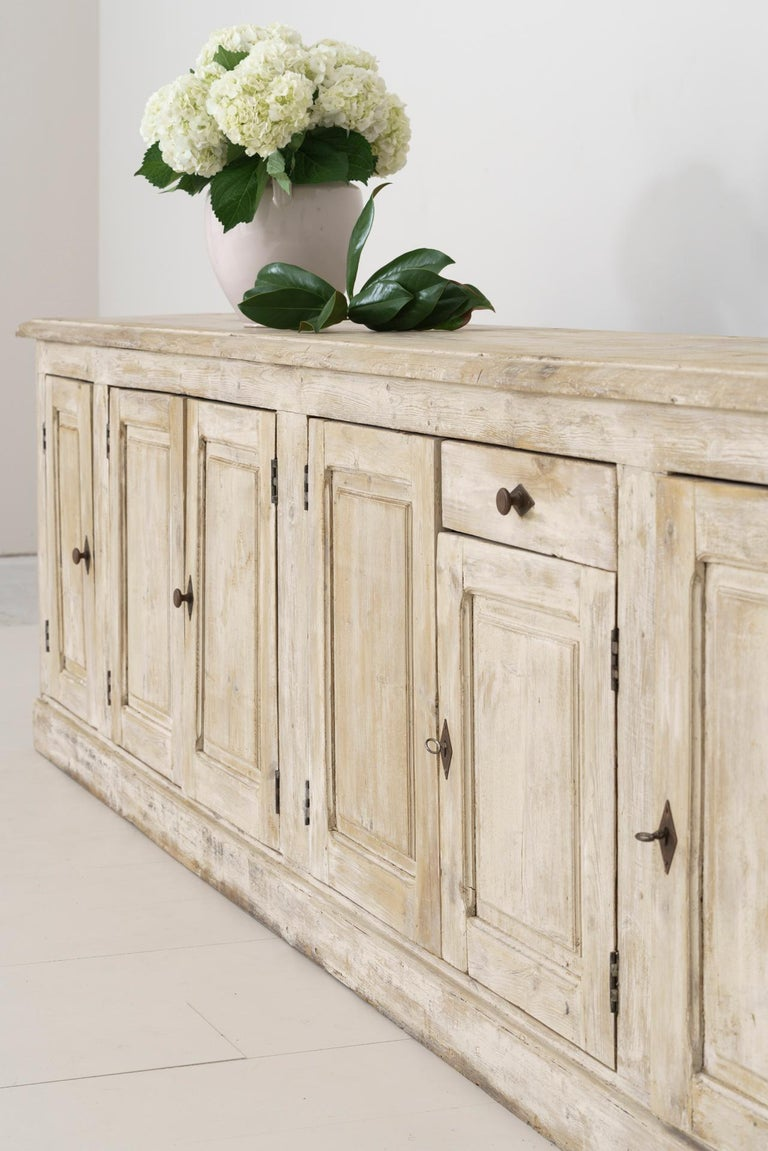 19th Century French Provençal Louis Philippe Style Enfilade in Original Patina For Sale 2