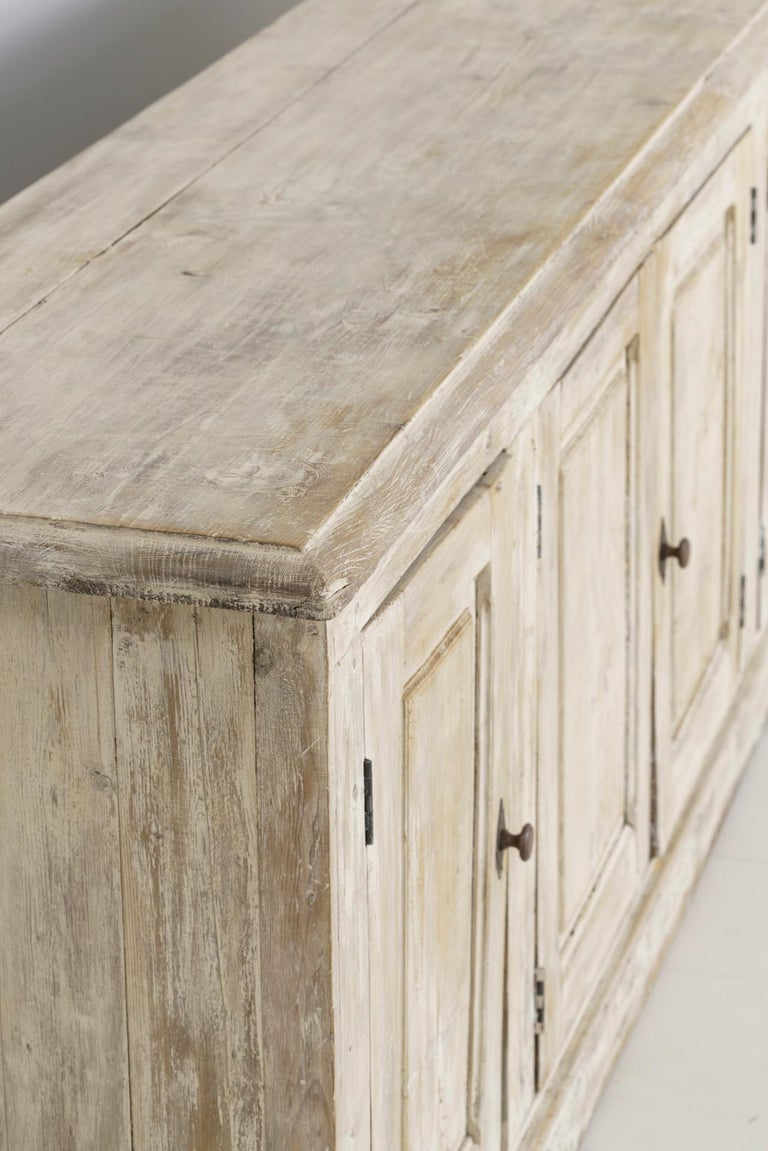 19th Century French Provençal Louis Philippe Style Enfilade in Original Patina For Sale 8
