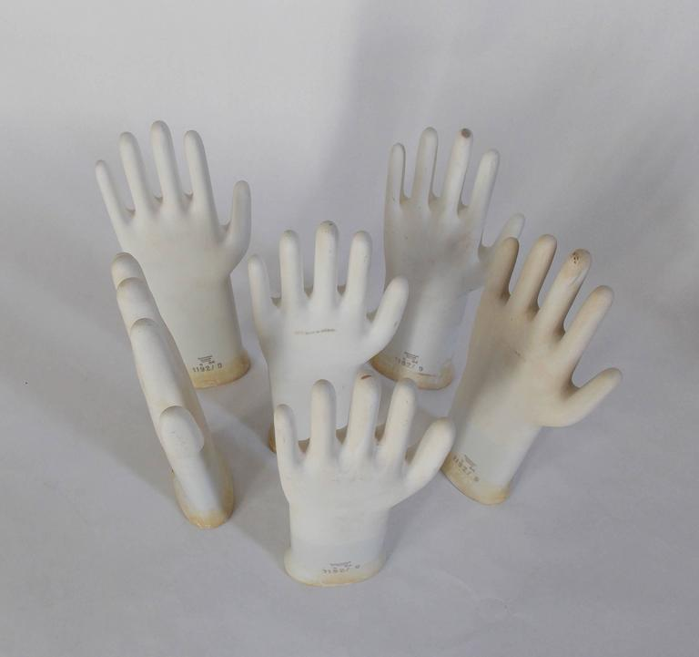 Collection of Mid-Century Modern Industrial German Glove Molds 7