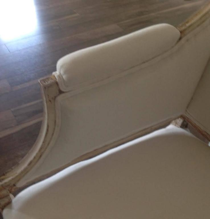 19th Century Swedish Gustavian Sofa in Original Paint For Sale 1
