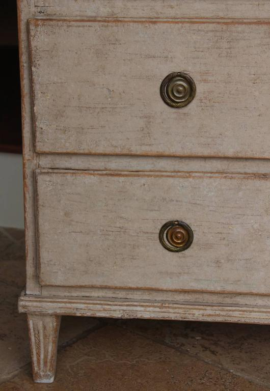 Swedish Gustavian Period Painted Chest, 19th Century Antique 9