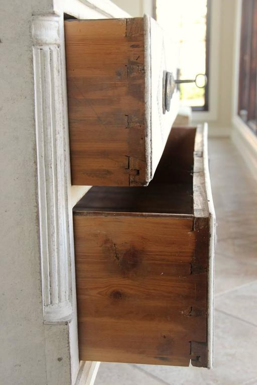 18th Century Swedish Gustavian Period Painted Chest of Drawers 10