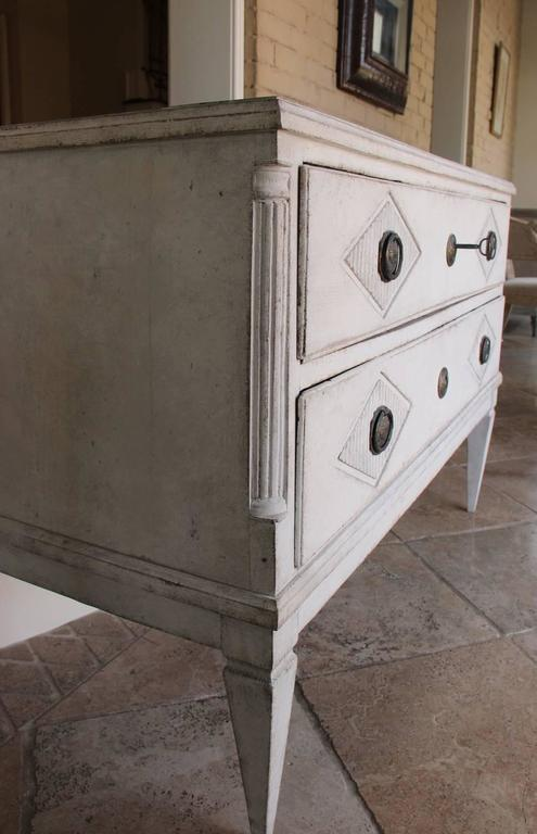18th Century Swedish Gustavian Period Painted Chest of Drawers 4