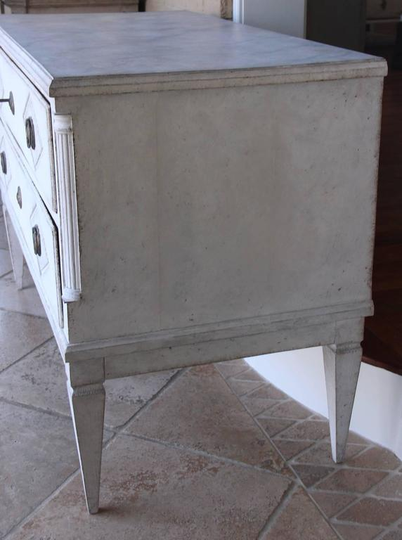 18th Century Swedish Gustavian Period Painted Chest of Drawers 7