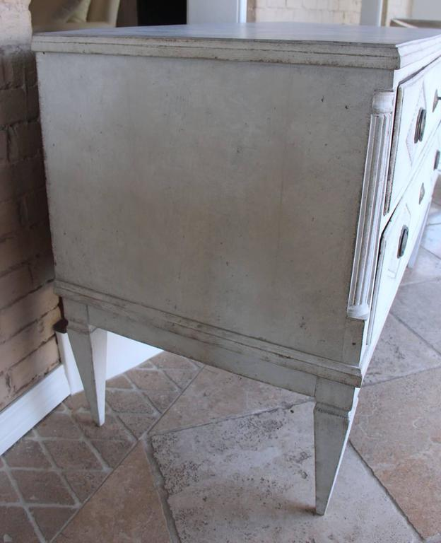 18th Century Swedish Gustavian Period Painted Chest of Drawers 6