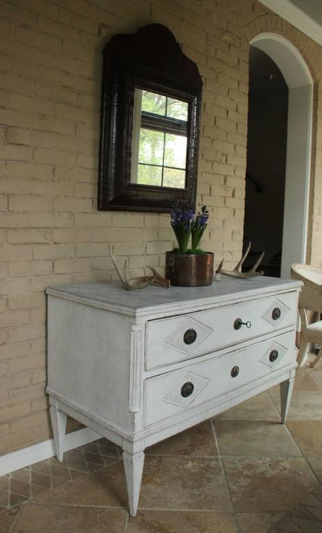 18th Century Swedish Gustavian Period Painted Chest of Drawers 2