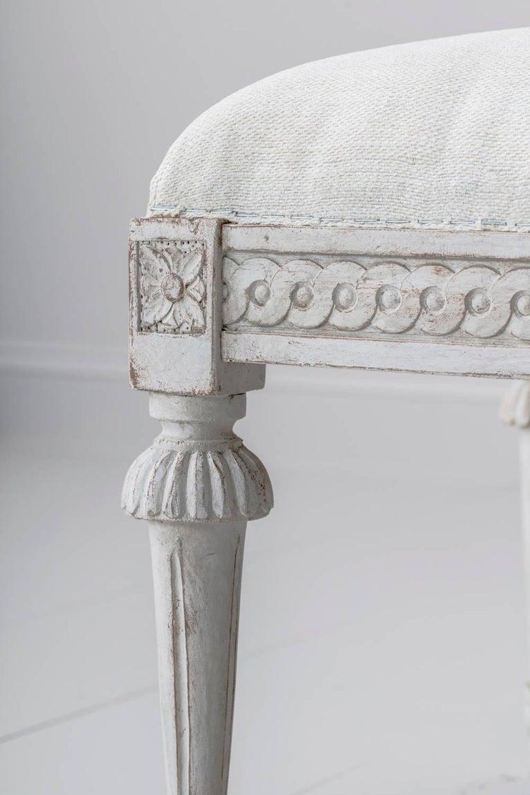19th Century Pair of Swedish Gustavian Benches 10