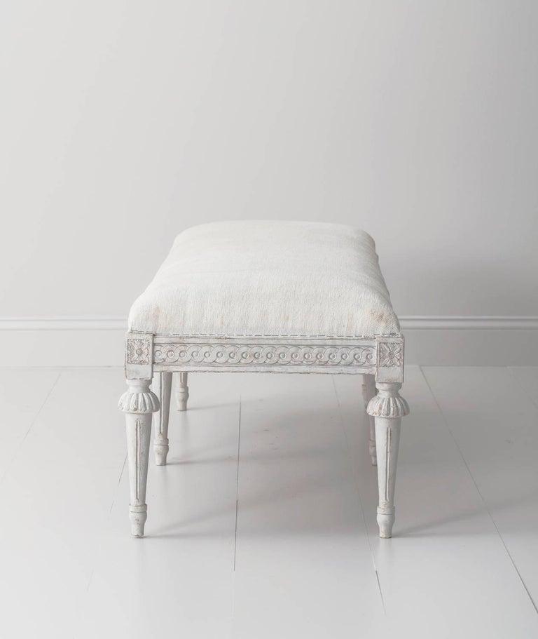 19th Century Pair of Swedish Gustavian Benches 4