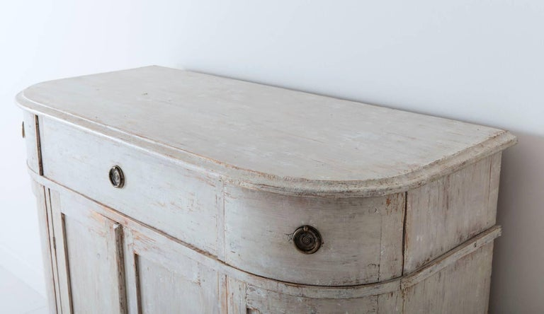 19th Century Swedish Period Gustavian Painted Buffet Cabinet 7