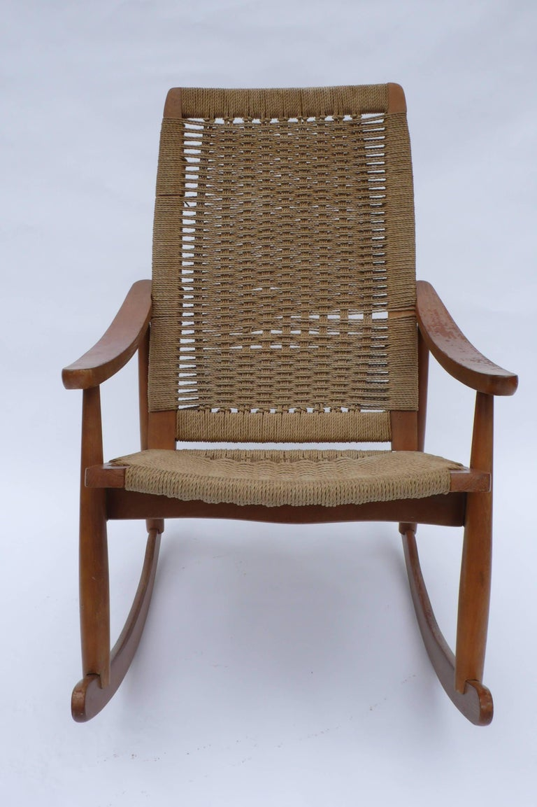 Enjoyable Midcentury Rocking Chair Made In Yugoslavia Ocoug Best Dining Table And Chair Ideas Images Ocougorg