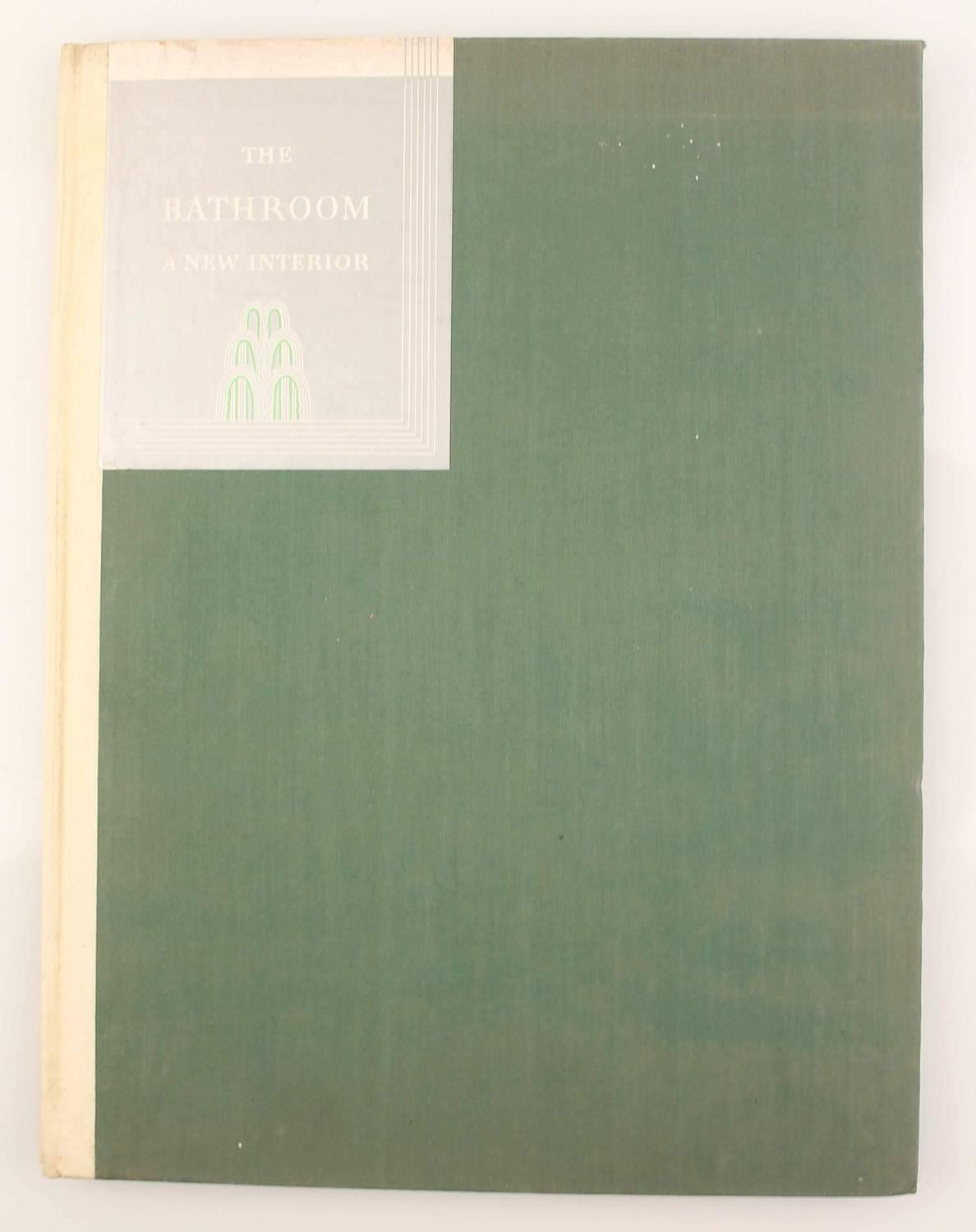 1931 Art Deco Bathroom Interior Design Architecture Reference Book For Sale At 1stdibs