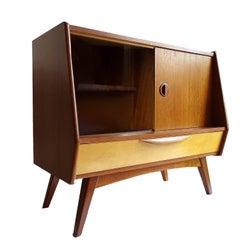 Midcentury Danish Modern Webe Van Teeffelen Sideboard Cabinet, 1960s