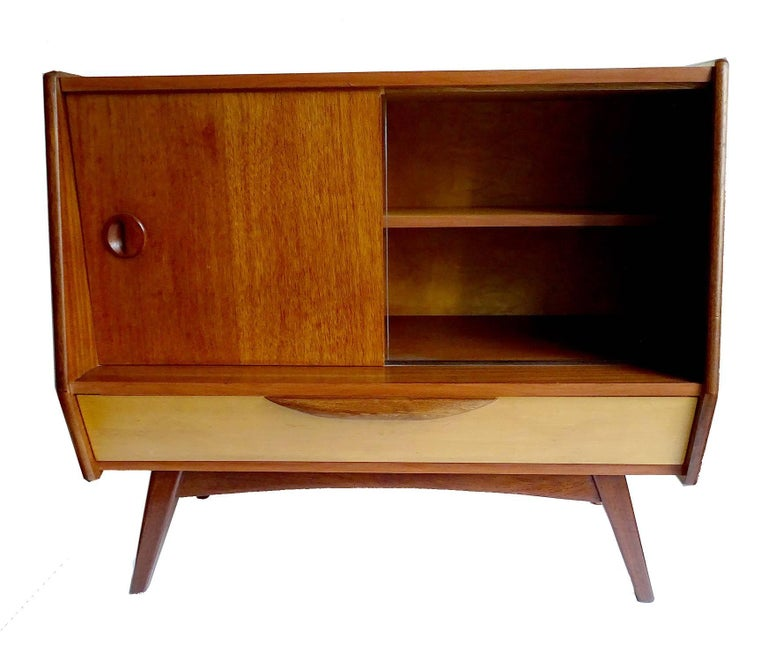 Dutch Midcentury Danish Modern Webe Van Teeffelen Sideboard Cabinet, 1960s For Sale