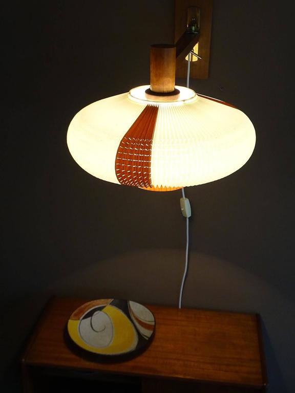 Large Modern Wall Lights : Very Large Danish Modern Swing Cocoon Sconce, 1960s Modernist Juhl Era For Sale at 1stdibs