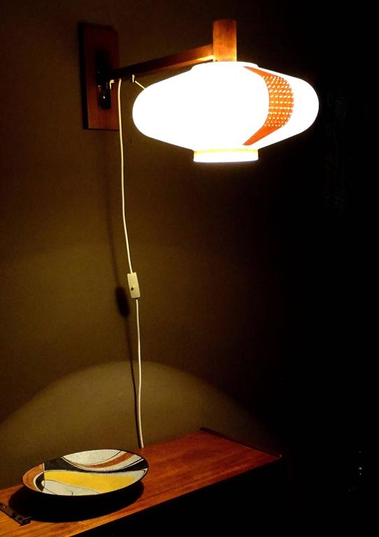 Very large danish modern swing cocoon sconce 1960s for Very modern lighting