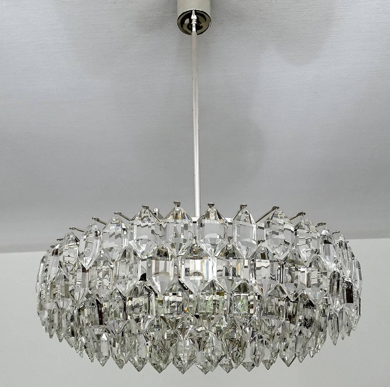 drum mount glow crystal round flush urban essentials chandelier product pendant