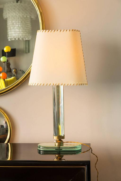 Mid-20th Century Pietro Chiesa, Table Lamp by Fontana Arte, Italy, circa 1938 For Sale