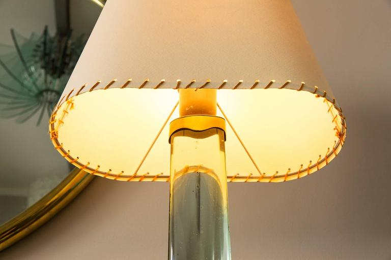 Brass Pietro Chiesa, Table Lamp by Fontana Arte, Italy, circa 1938 For Sale