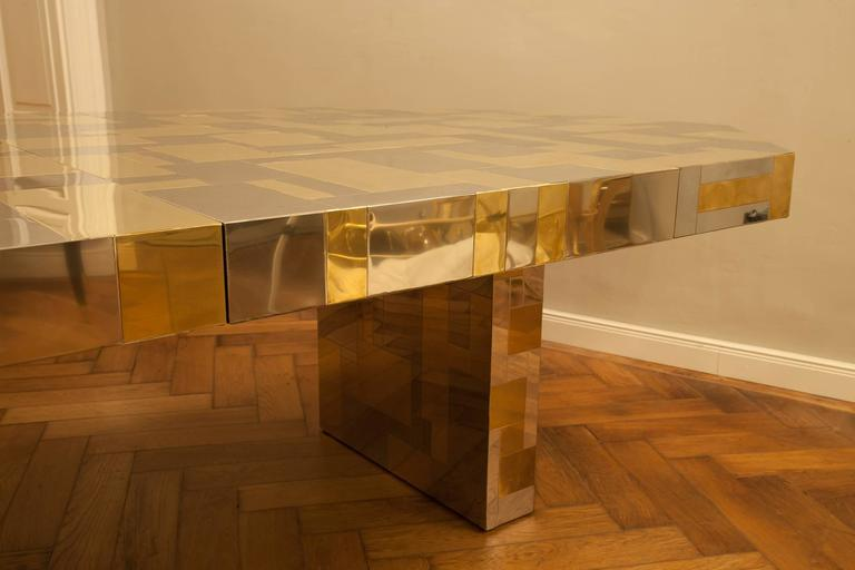 Rare Paul Evans, Dining Table, Cityscape Edition, USA, circa 1970 For Sale 2